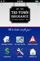 Screenshot of Tri-Town Insurance