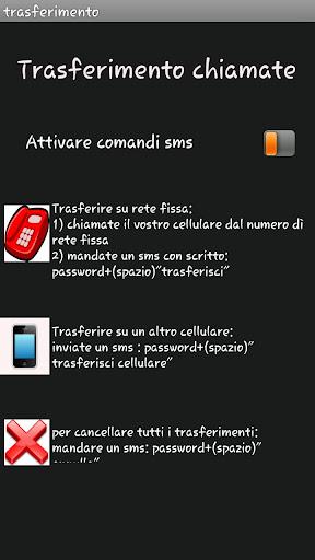 Deviazione by SMS