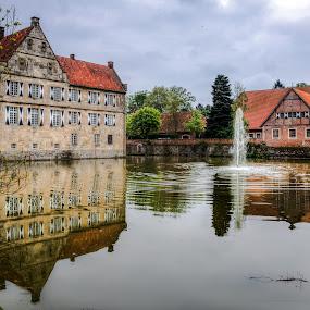 Castle Droste-Huelshoff by Dirk Rosin - Buildings & Architecture Public & Historical ( deutschland, tyskland, schloss, slott, castle, germany,  )