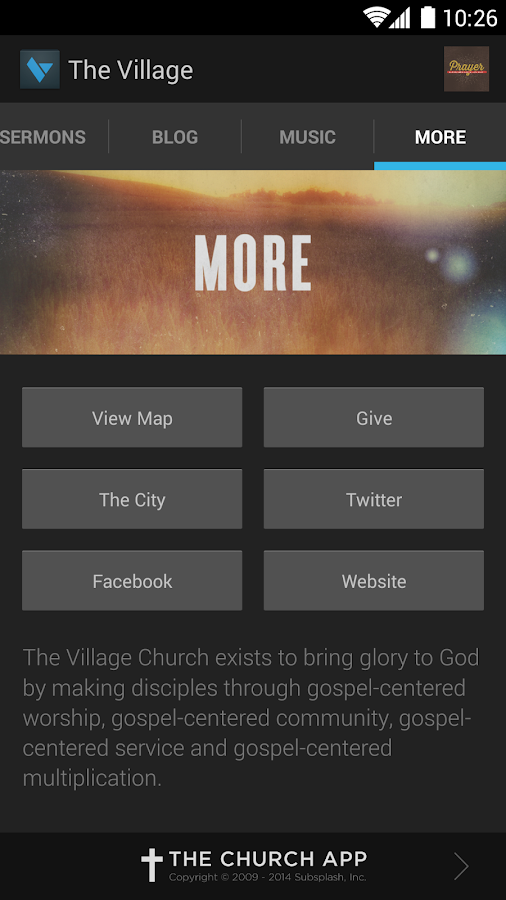 The Village Church - screenshot