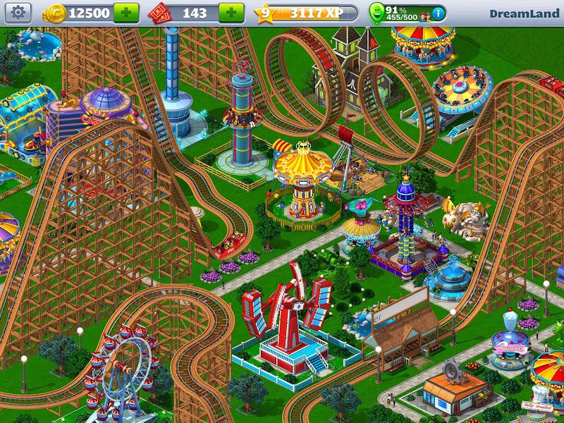 RollerCoaster Tycoon\302\256 4 Mobile Screenshot 14