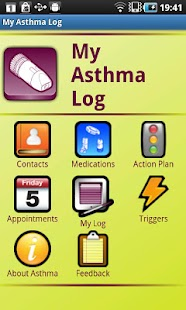 My Asthma Log - screenshot thumbnail