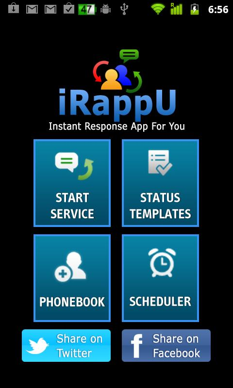 iRappU (Instant Response) - screenshot