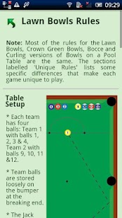 Sport on a Pool Table Rules- screenshot thumbnail
