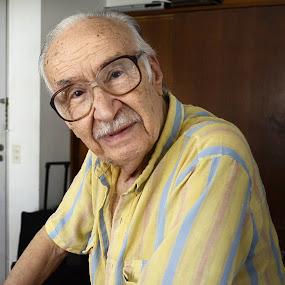 Great!! Grandpa.... by Willy Schvarztman - People Portraits of Men