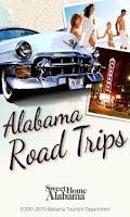 Screenshot of Alabama Road Trips