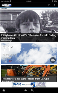 WDBJ7- screenshot thumbnail