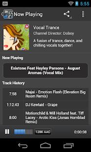 Digitally Imported Radio - screenshot thumbnail