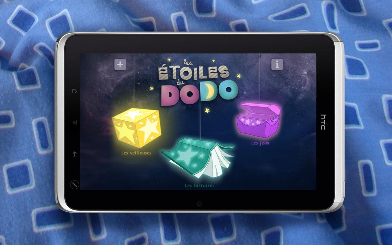 Les Étoiles du dodo - tablette - screenshot