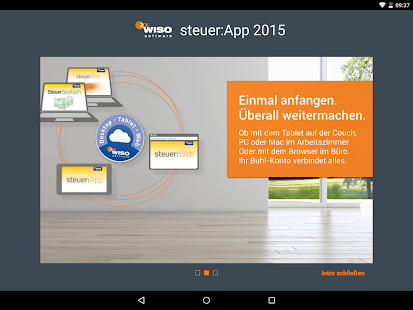 WISO steuer:App 2015 - náhled