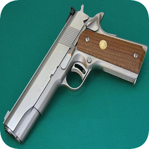 Apps apk Gun Colt M1911  for Samsung Galaxy S6 & Galaxy S6 Edge