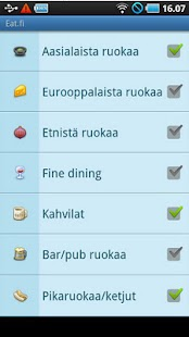 Eat.fi - Restaurant search- screenshot thumbnail