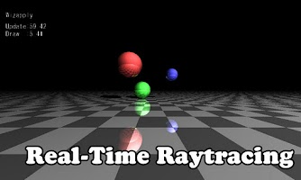 Screenshot of Real-Time GPU Raytracing