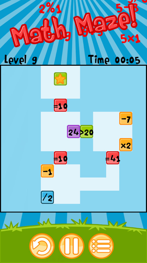 Math Maze! - screenshot