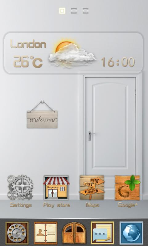 CountryHouse_GO Launcher Theme - screenshot