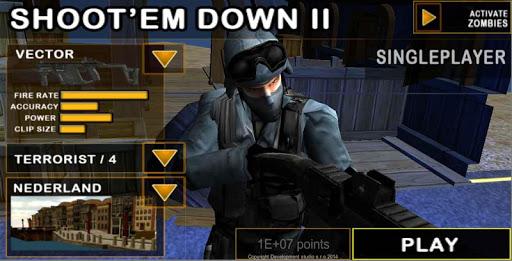 Shoot`Em Down II:Shooting game