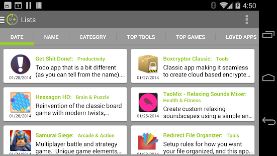 DOTD - Best App Catalog - screenshot thumbnail