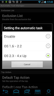 Automatic Task Killer Manager - screenshot thumbnail