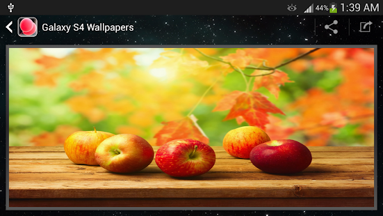 Galaxy S4 Wallpaper - screenshot thumbnail