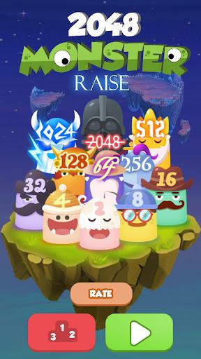 2048 Monster Raise