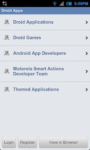 Droid Forums - screenshot thumbnail