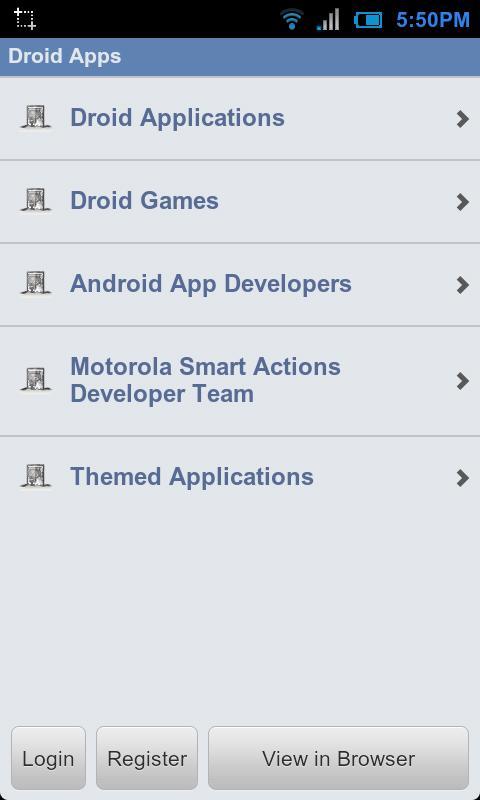 Droid Forums- screenshot