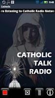 Screenshot of Catholic Radio Network