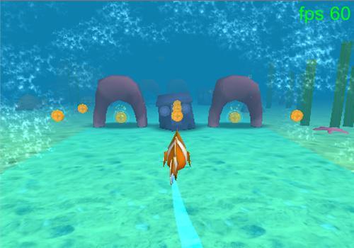 海中の魚ラン