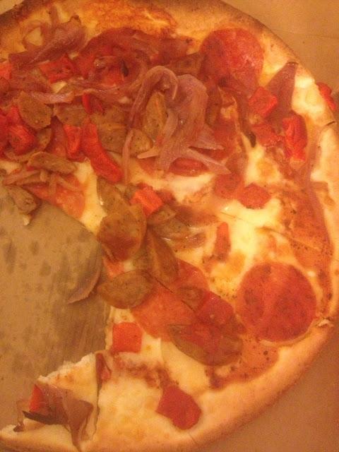 Gluten free Amore pizza