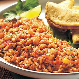 Whole Grain Spanish Rice.