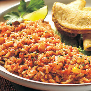 Whole Grain Spanish Rice.