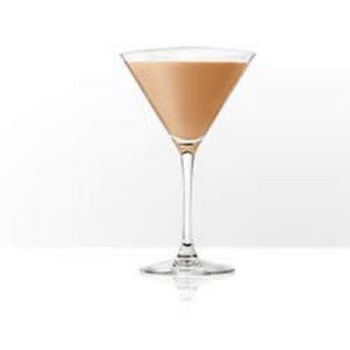 Baileys Mint Chocolate Martini.