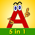 ABC Alphabet Phonics Plus icon