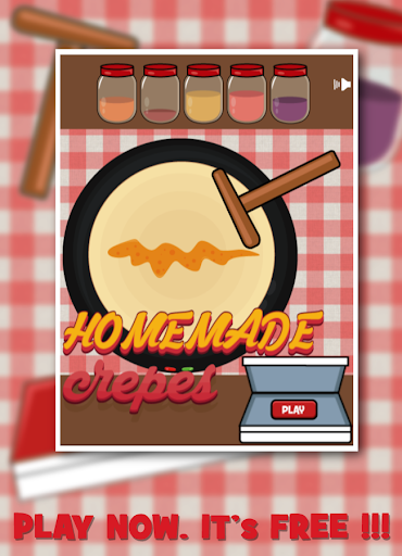 Homemade crepes - Food store