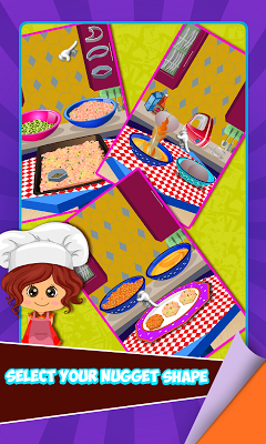 Nugget Maker - Kitchen Game - screenshot