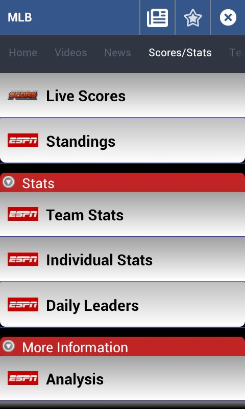 Sports News Center 2 - screenshot