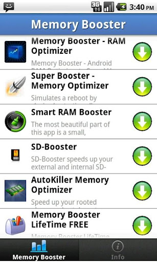 Top Memory Boosters