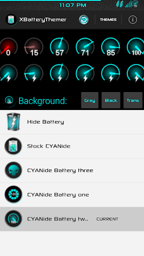 XPOSED Battery CYANide Two