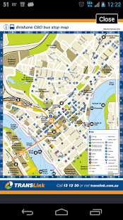 Brisbane TransLink Planner - screenshot thumbnail