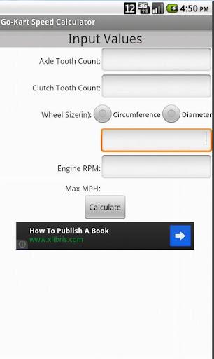 Go-Kart Speed Calculator