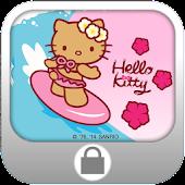 Hello Kitty Surf Screen Lock