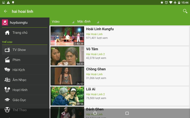Zing TV - screenshot