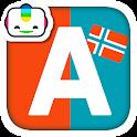 Bogga Alfabet norsk - lær ABC