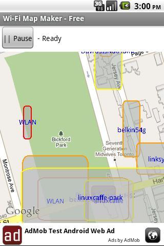 Map Your Wi-Fi - Free - screenshot