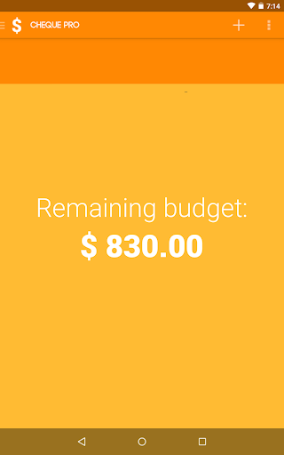 Cheque Pro Budget Planner