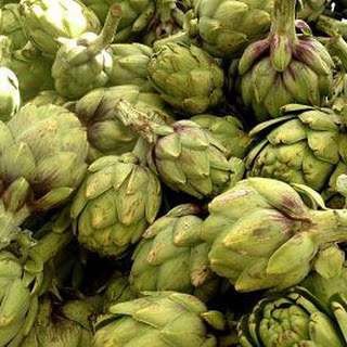 Pan Roasted Artichokes