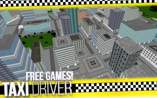 瘋狂的職務出租車司機3D