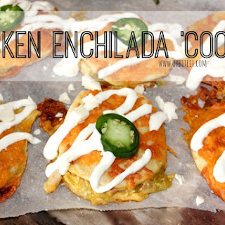 ~Chicken Enchilada 'Cookies'!