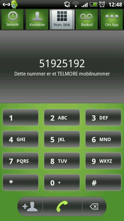 TELMORE til TELMORE- screenshot