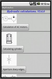 Hydraulic calculations screenshot 0